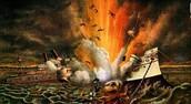 U.S,S Maine Explosion