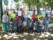 Dia da Criança com a comissão Social de Freguesia de Águas Livres