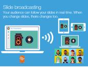 Slide Broadcasting