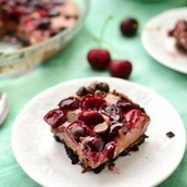 Recipie for Creamy Chocolate Cherry Bars