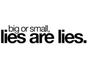 Stop the lying