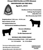 April 9th @ Mt Pleasant