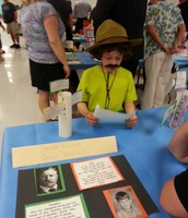 Sean as Teddy Roosevelt- Check out the monocle!