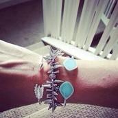 Turquoise  - Serenity Cuff bracelet