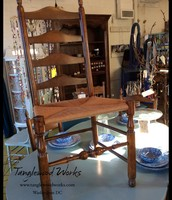 Set of 4 Ladderback Chairs - $250