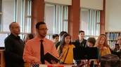 Audie Murphy Student Council Sponsor, Mr. Rodriguez