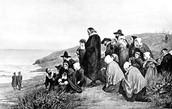 The Pilgrims In America