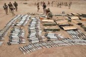 recovered ammunition from operation iraqi freedom