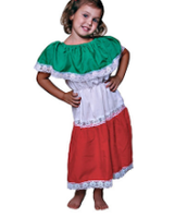 Girls traditional clothing