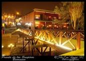 El puente de los suspiros Barrancos.