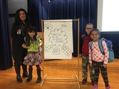 The awesome Ms. Brooks & her Panthers presented on how to calm down at SEL assembly!