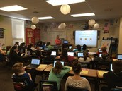 """6th graders learned about """"safe"""" Google searching"""