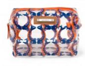 Pouf- Marine Blue/Orange Fishtails  $12