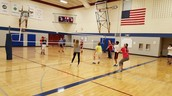 Volleyball in PE