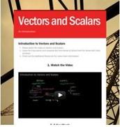 Science: Vectors & Scalars