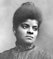 Ida B Wells. Younger ages.