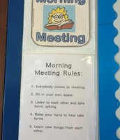 Rules for Morning Meeting