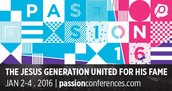 Hey HS Seniors! Passion Conference Registration is Now Open
