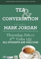 TEA & CONVERSATION: Feb 11th