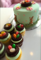 Bunnies are hopping at Sweet making freshly baked Easter treats! Make your holiday a SWEET one!