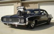 my black Chevy Camaro