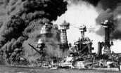 Sunken U.S. ship
