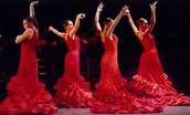Multiple Flamenco Dancers
