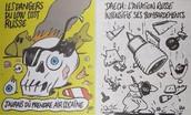 Russie frappe à Charlie Hebdo pour se moquer accident d'avion avec leur dessin animé page de couverture