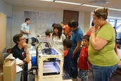 Library Makerspace at the CSM Family Science & Astronomy Festival