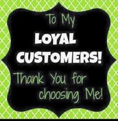 Thank You to my May Customers and Hostesses!