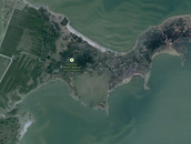 google earth point of view of Damerons Marsh
