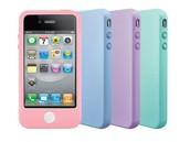 Siliconen hoesje voor iphone