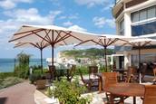 Vårt hotell vid kusten i Normandie