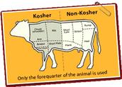 Kosher food, some jews only eat kosher food,