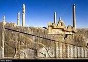 Wall in Persepolis