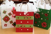 Reuse gift bags instead of throwing them away