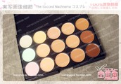 TSN Coastal Scents with factory 15 color Makeup Disc