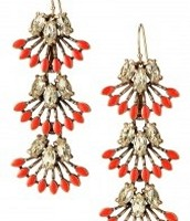 Coral cay earring $28