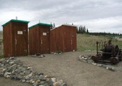 we have outhouses