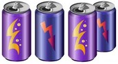this is what the energy drink cans look like