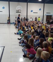 PEP RALLY @ THE ELEMENTARY
