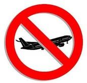 הפגיעות בחופש התנועה האווירית