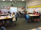 4th grade working through a story problem