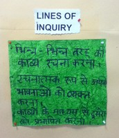 Languages Hindi  Lines of Inquiry