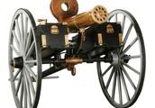 "The Machine Cannon or ""Gatling Gun"""