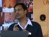 Ravi gulati giving a speech