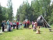 Ojibwe Village Anshinaabeg Odena