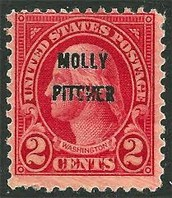 Molly Pitcher Stamp