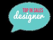 Top Sales by Rank - Designer