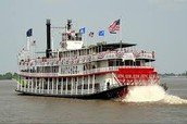 Modern New Orleans Steamboat: NATCHEZ